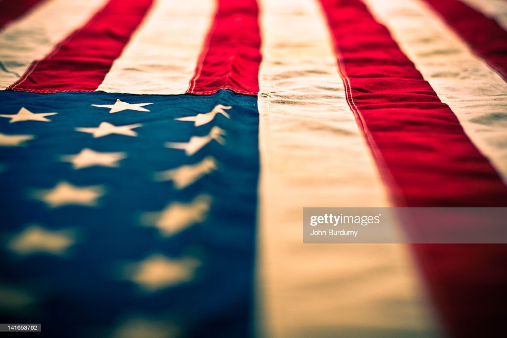 American flag : Stock Photo