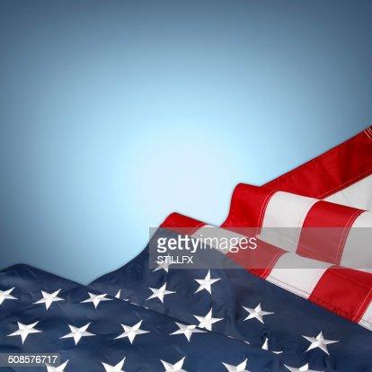 Amerikanische Flagge : Stock-Foto