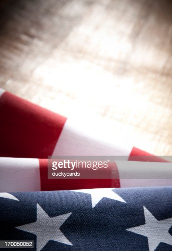 USA American Flag with Copyspace