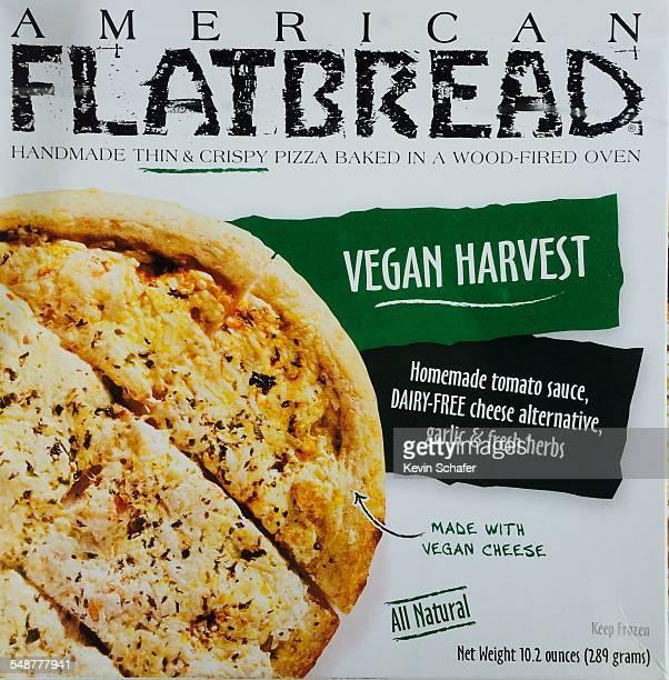 American Flatbread dairyfree vegan pizza frozen box