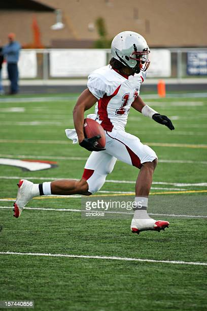 halfback american football player stock photos and