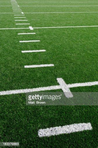 American Football Field Grass Turf