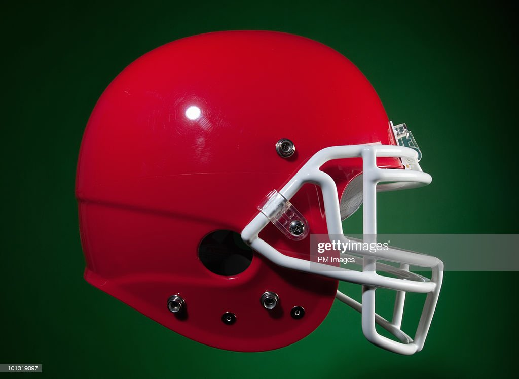 American Football Helmet : Stock Photo