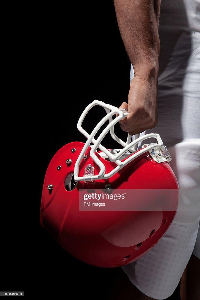 American Football Helmet : Stock Photo