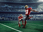American football kick off