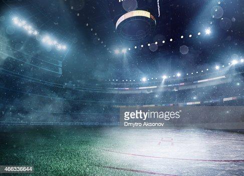 American football meets ice hockey