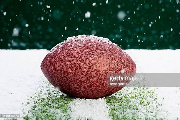 Fútbol americano en la nieve