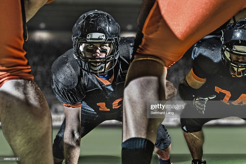 American football player opposite to opponents