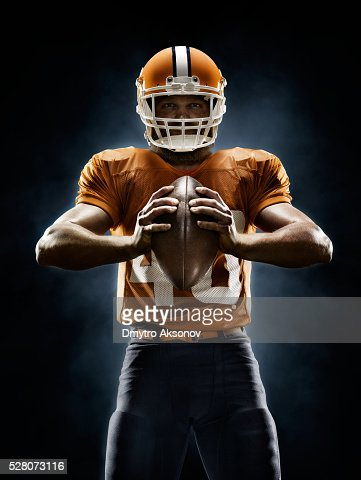 american football player stock photos and pictures getty images. Black Bedroom Furniture Sets. Home Design Ideas