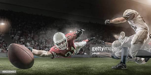 アメリカンフットボール選手スコアタッチダウン