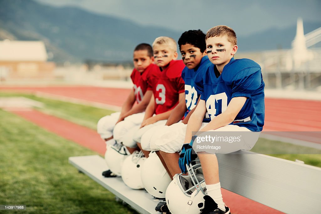 American Football Players : Stock Photo
