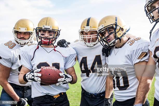 American football players.