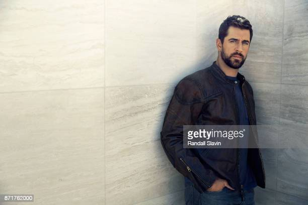 American football quarterback for the Green Bay Packers Aaron Rodgers is photographed for ESPN The Magazine on July 21 2017 in Los Angeles California...