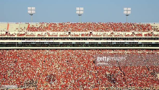 American Football Stadion voller Zuschauer