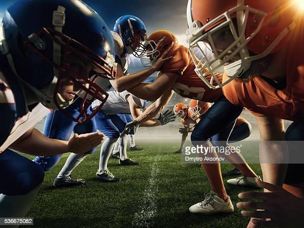 American football teams head to head