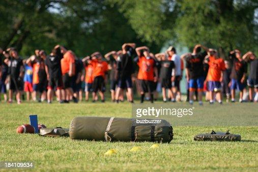 American Football Training Camp