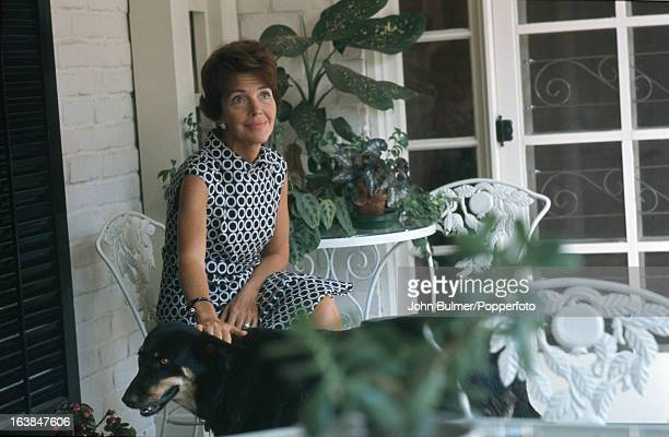 American former actress Nancy Reagan the wife of California Governor Ronald Reagan 1967