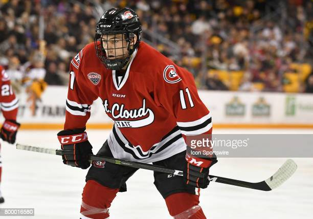 American forward Ryan Poehling is a top15 prospect in the 2017 NHL Entry Draft