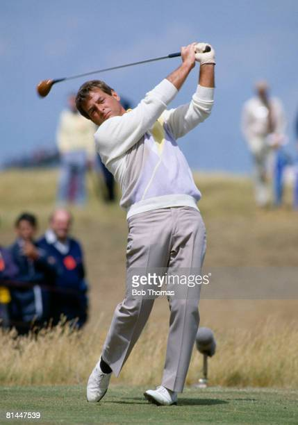 American golfer Fuzzy Zoeller during the British Open Golf Championship held at Royal St George's Sandwich between the 18th 21st July 1985