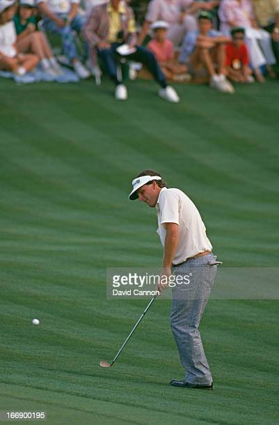 American golfer Mark Calcavecchia at the US Masters Tournament at Augusta National Golf Club Augusta Georgia 7th10th April 1988