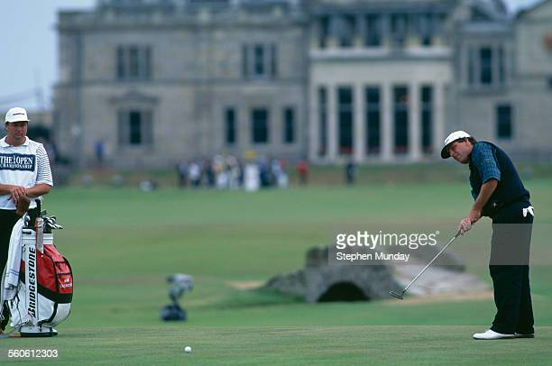 American golfer Mark Calcavecchia competing in The Open Championship at St Andrews Scotland 20th23rd July 1995