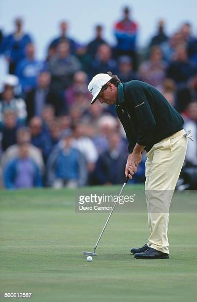 American golfer Mark Calcavecchia competing in The Open Championship at St Andrews Scotland 23rd July 1995