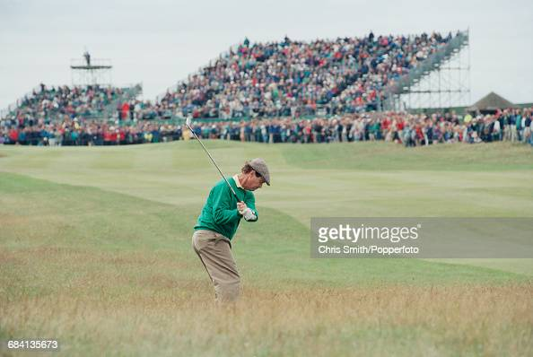 American golfer Tom Watson pictured during action to finish in joint 11th place at the 1994 Open Championship at Turnberry Golf Resort in Scotland in...