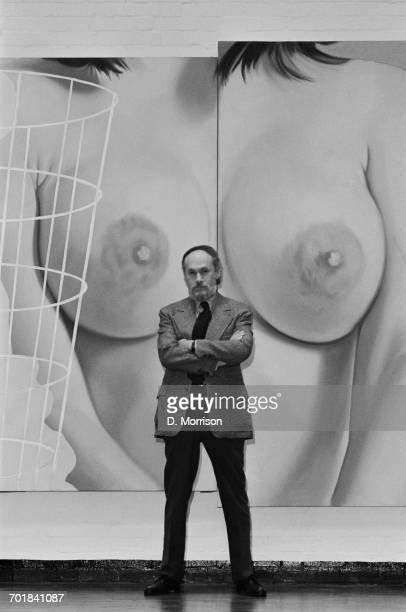 American graphic designer Art Paul the Art Director of Playboy Magazine 16th November 1971