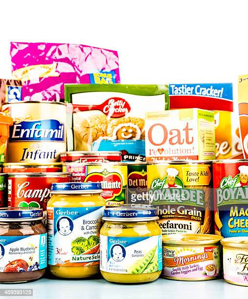 American Grocery Collection for Food Drive