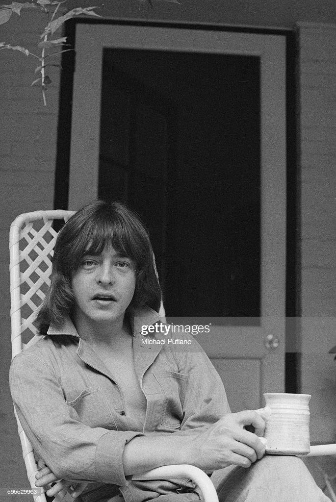 American guitarist Rick Derringer of The Edgar Winter Group, USA, 30th July 1976.