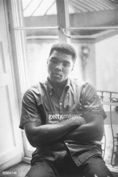 American Heavyweight boxer Cassius Clay 4th August 1966
