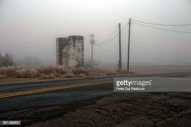 American highway near Toyah Texas state USA