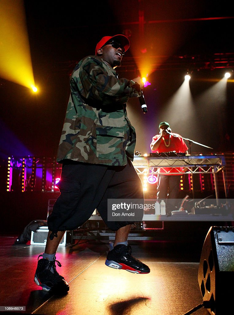American hip hop artist, Big Boi of Outkast performs on stage during a promotion for Electronic Arts' racing video game 'Need for Speed Hot Pursuit' at Hordern Pavilion on November 18, 2010 in Sydney, Australia.