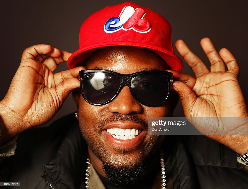 American hip hop artist, <a gi-track='captionPersonalityLinkClicked' href=/galleries/search?phrase=Big+Boi&family=editorial&specificpeople=202898 ng-click='$event.stopPropagation()'>Big Boi</a> of Outkast poses backstage during a promotion for Electronic Arts' racing video game 'Need for Speed Hot Pursuit' at Hordern Pavilion on November 18, 2010 in Sydney, Australia.