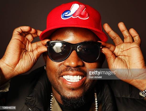 American hip hop artist Big Boi of Outkast poses backstage during a promotion for Electronic Arts' racing video game 'Need for Speed Hot Pursuit' at...