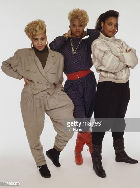American hip hop trio SaltnPepa circa 1990