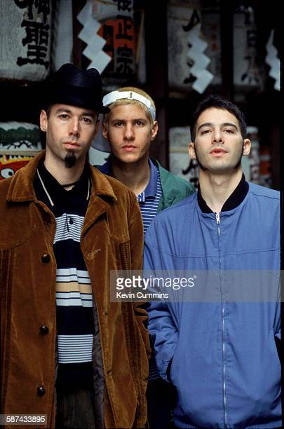 American hiphop group the Beastie Boys Japan November 1994 Left to right Michael 'Mike D' Diamond Adam 'MCA' Yauch and Adam AdRock' Horovitz