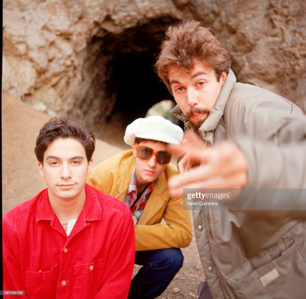 American hiphop group the Beastie Boys circa 1990 Left to right Michael 'Mike D' Diamond Adam 'MCA' Yauch and Adam AdRock' Horovitz