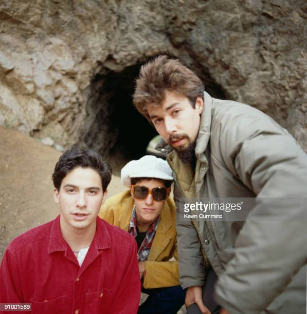 American hiphop group the Beastie Boys circa 1990 Left to right Adam AdRock' Horovitz Adam 'MCA' Yauch and Michael 'Mike D' Diamond
