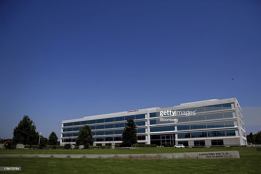 American Honda Motor Co. Inc. headquarters stands in Torrance, California, U.S., on Tuesday, Aug. 13, 2013. Honda Motor Co. has sold 218,000 Accords, and 191,000 Civics in the first 7 months of 2013, all standard with the integrated Pandora system. Photographer: Patrick Fallon/Bloomberg via Getty Images