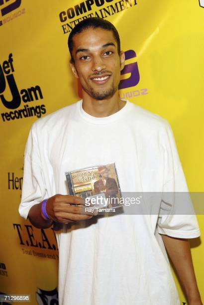 American Idol contestant Corey Clark attends the Neyo PreBET Awards Party at the Day After Club on June 25 2006 in Los Angeles California