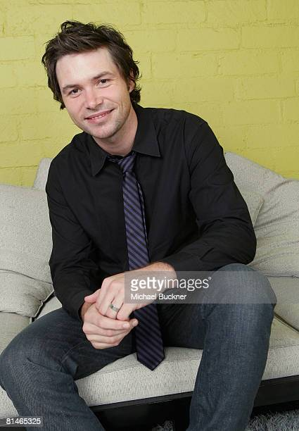 American Idol contestant Michael Johns poses for a portrait during the Australians In Film 2008 'Breakthrough Awards' held at the Avalon Hotel on...