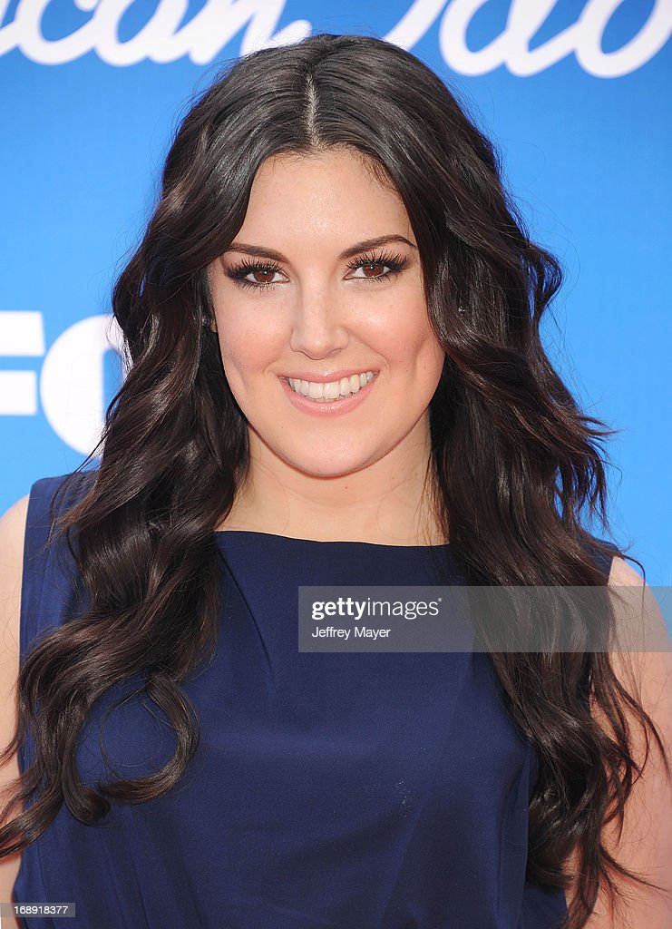 'American Idol' finalist Kree Harrison arrives at FOX's 'American Idol' Grand Finale at Nokia Theatre L.A. Live on May 16, 2013 in Los Angeles, California.