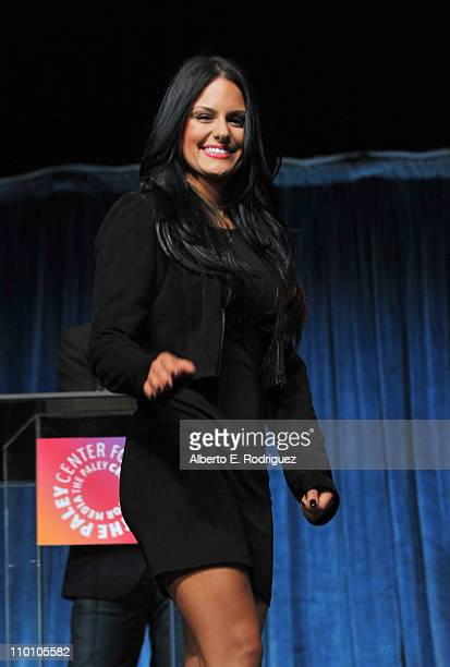 American Idol Finalist Pia Toscano onstage at Paley Center for Media's Paleyfest 2011 event honoring 'American Idol' held at Saban Theater on March...