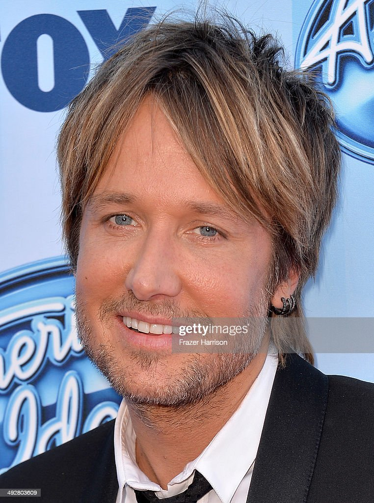 American Idol Judge <a gi-track='captionPersonalityLinkClicked' href=/galleries/search?phrase=Keith+Urban&family=editorial&specificpeople=202997 ng-click='$event.stopPropagation()'>Keith Urban</a> attends Fox's 'American Idol' XIII Finale at Nokia Theatre L.A. Live on May 21, 2014 in Los Angeles, California.