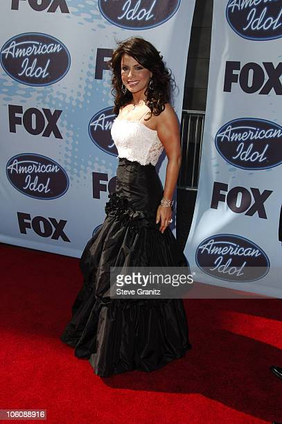 'American Idol' judge Paula Abdul during 'American Idol' Season 5 Finale Arrivals at Kodak Theater in Hollywood California United States
