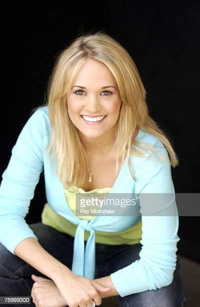 'American Idol' Season 4 Top 24 Semifinalist Carrie Underwood Checotah Oklahoma