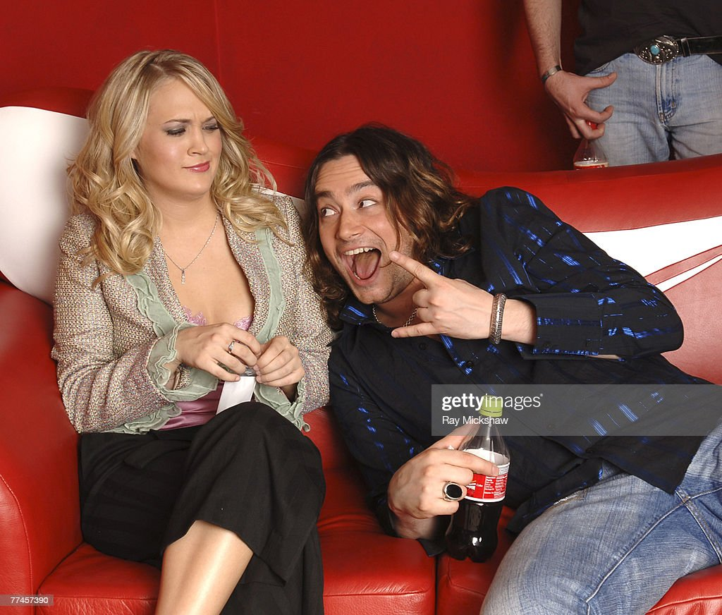 'American Idol' Season 4 - Top 8 Finalists, Carrie Underwood, 21, from Checotah, Oklahoma and Constantine Maroulis, 29, from New York City, New York