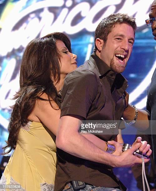 'American Idol' Season 5 Paula Abdul judge and Top 3 Finalist Elliott Yamin from Richmond Virginia *EXCLUSIVE*