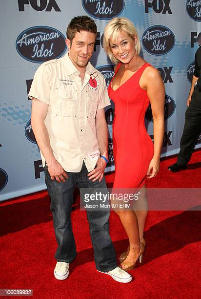 'American Idol' Season 5 Season 5 Top 3 Finalist Elliott Yamin from Richmond Virginia and Top 6 Finalist Kellie Pickler of Albemarle North Carolina